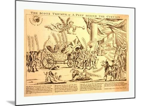 The Scots Triumph--Mounted Giclee Print