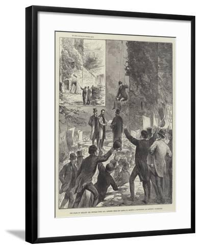 The State of Ireland--Framed Art Print