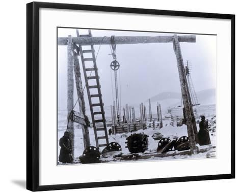 Yard No. 647--Framed Art Print