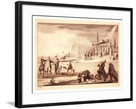 York Town--Framed Art Print