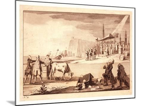 York Town--Mounted Giclee Print