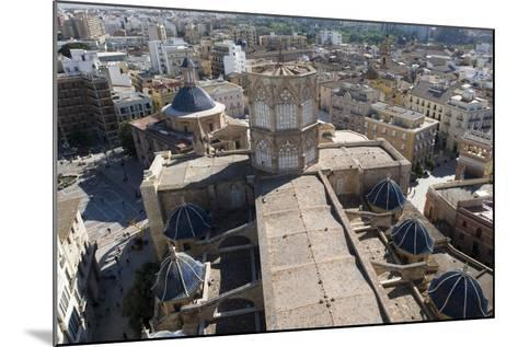 View of Metropolitan Cathedral-Basilica of Assumption of Our Lady of Valencia (13th-14th Century) f--Mounted Photographic Print