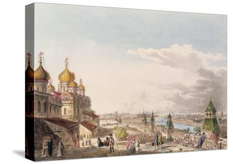 View of Moscow Taken from the Imperial Palace--Stretched Canvas Print