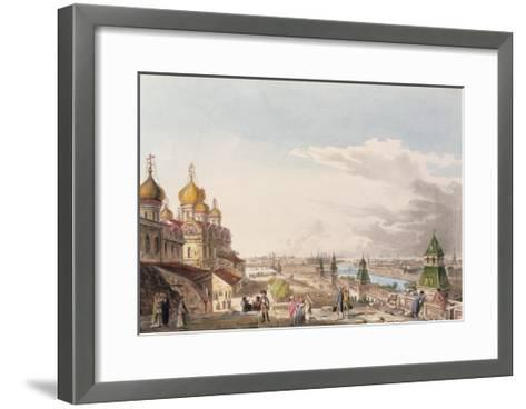 View of Moscow Taken from the Imperial Palace--Framed Art Print