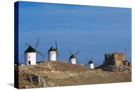 Windmills of Consuegra--Stretched Canvas Print