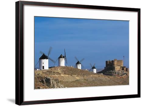 Windmills of Consuegra--Framed Art Print