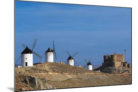 Windmills of Consuegra--Mounted Photographic Print