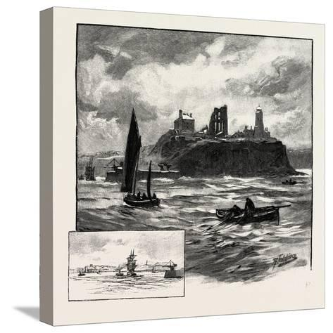 Tynemouth--Stretched Canvas Print