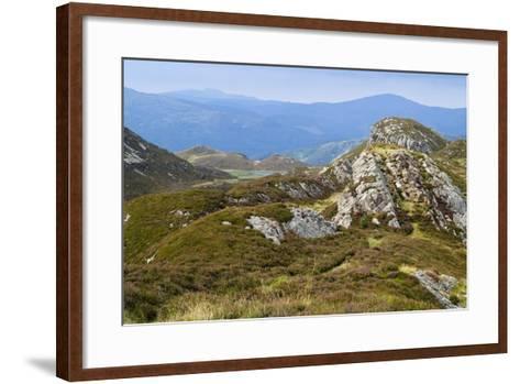 Welsh Upland Mountain Landscape: Pared Y Cefn-Hir--Framed Art Print