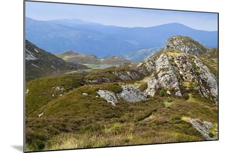 Welsh Upland Mountain Landscape: Pared Y Cefn-Hir--Mounted Photographic Print