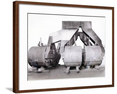 Yard No. 647--Framed Art Print