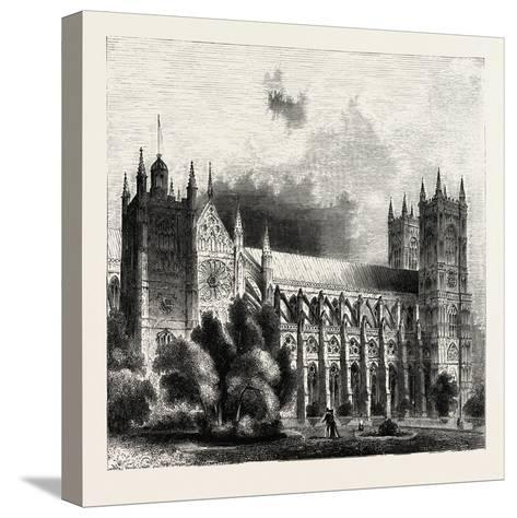 Westminster Abbey--Stretched Canvas Print