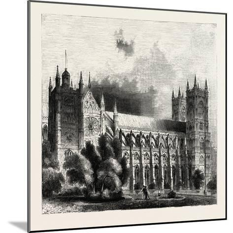 Westminster Abbey--Mounted Giclee Print