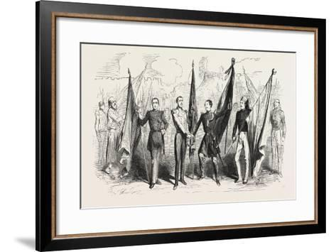 Victory! Cantata of Mr. Michek Carr?--Framed Art Print