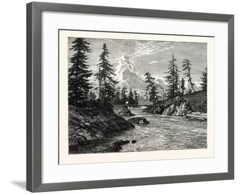 View of The Gorge--Framed Art Print