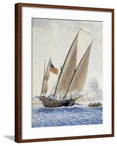 Volcan--Framed Art Print