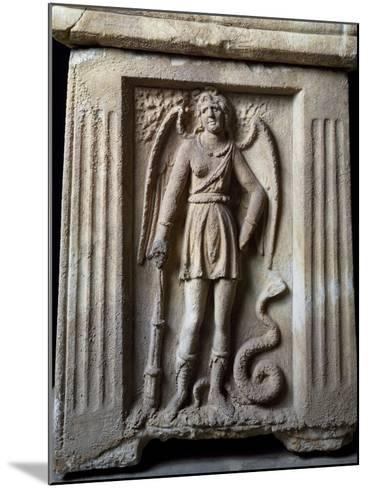 Winged Demon--Mounted Giclee Print