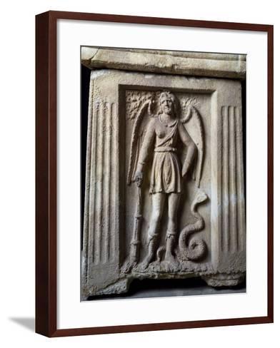 Winged Demon--Framed Art Print