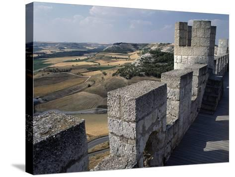 View from Walls of Penafiel Castle--Stretched Canvas Print
