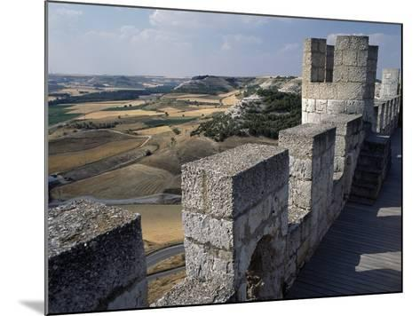 View from Walls of Penafiel Castle--Mounted Giclee Print