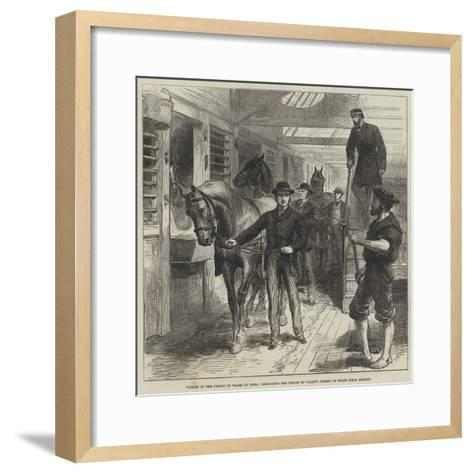 Voyage of the Prince of Wales to India--Framed Art Print