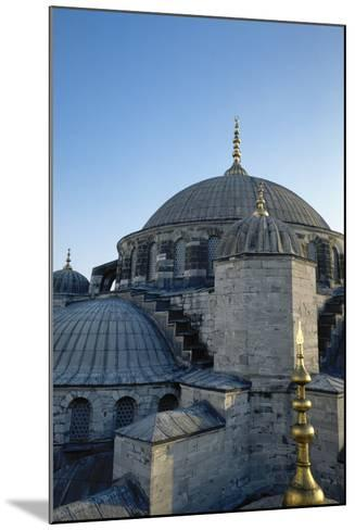 Turkey. Istanbul. Sultan Ahmed Mosque or Blue Mosque.1609-1616. Architect--Mounted Photographic Print