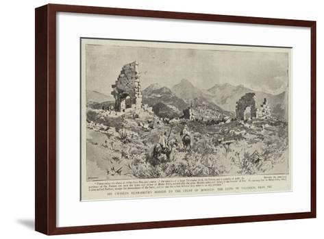 Sir Charles Euan-Smith's Mission to the Court of Morocco, the Ruins of Volubilis, Near Fez--Framed Art Print