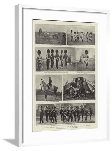 The Military Manoeuvres and the Camera, Scenes in the Camps of Churn and Crookham--Framed Art Print
