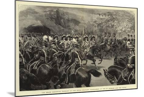 The Grand Historical Pageant at the Royal Military Tournament of the 3rd Hussars and the Buffs--Mounted Giclee Print