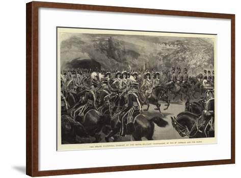 The Grand Historical Pageant at the Royal Military Tournament of the 3rd Hussars and the Buffs--Framed Art Print