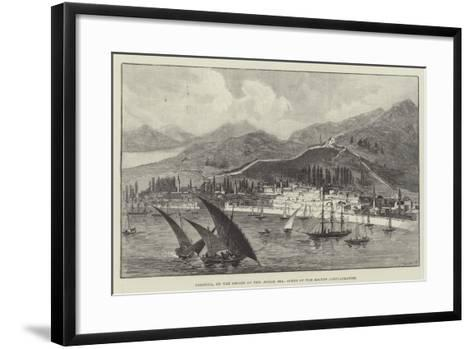 Salonica, on the Shores of the Aegean Sea, Scene of the Recent Conflagration--Framed Art Print