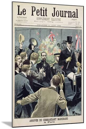 Arrival of Commander Marchand in Paris, Title Page from 'Le Petit Journal', 11 June 1899--Mounted Giclee Print