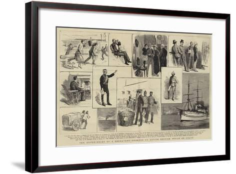 The Experiences of a Subaltern, Ordered on Active Service While on Leave--Framed Art Print