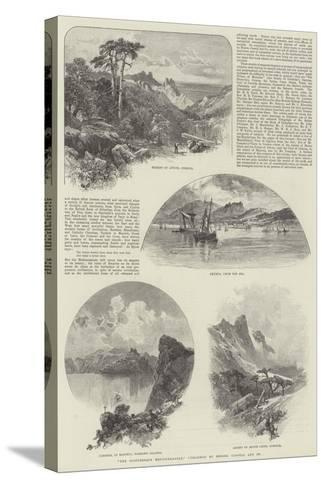 The Picturesque Mediterranean, Published by Messers Cassell and Company--Stretched Canvas Print