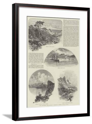 The Picturesque Mediterranean, Published by Messers Cassell and Company--Framed Art Print