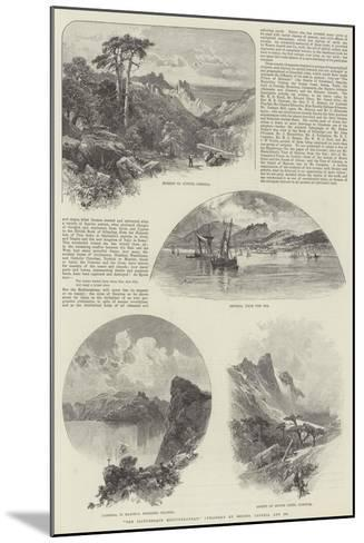 The Picturesque Mediterranean, Published by Messers Cassell and Company--Mounted Giclee Print