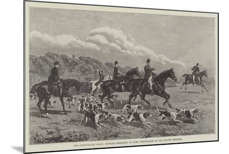 The Fitzwilliam Hunt, Picture Presented to Earl Fitzwilliam on His Golden Wedding--Mounted Giclee Print