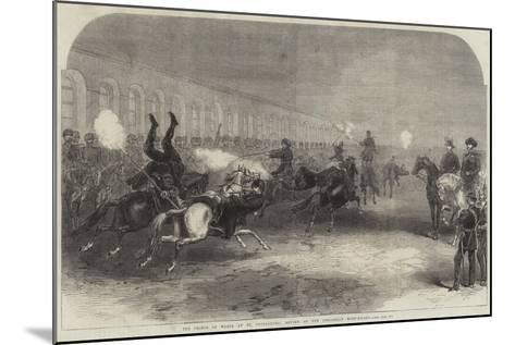 The Prince of Wales at St Petersburg, Review of the Circassian Body-Guard--Mounted Giclee Print