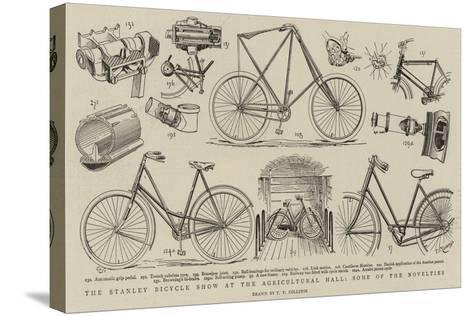 The Stanley Bicycle Show at the Agricultural Hall, Some of the Novelties--Stretched Canvas Print