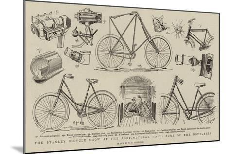 The Stanley Bicycle Show at the Agricultural Hall, Some of the Novelties--Mounted Giclee Print