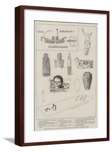 The Discovery of a New Race in Ancient Egypt by Professor Flinders Petrie--Framed Art Print