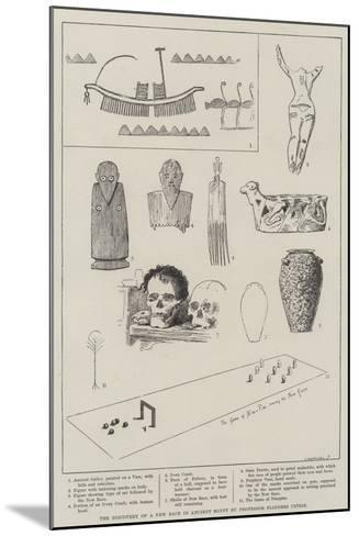 The Discovery of a New Race in Ancient Egypt by Professor Flinders Petrie--Mounted Giclee Print
