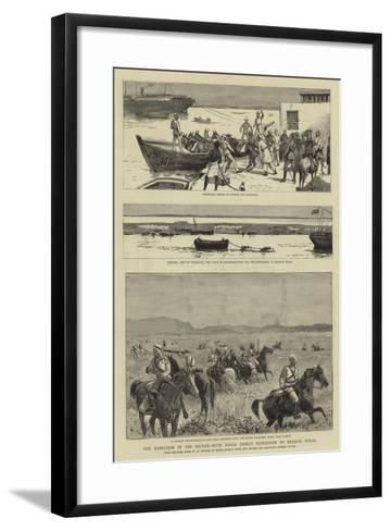 The Rebellion in the Soudan, with Baker Pasha's Expedition to Relieve Tokar--Framed Art Print
