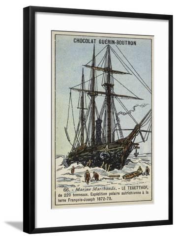 Tegetthof, Ship Used on the Austro-Hungarian Polar Expedition of 1872-1873--Framed Art Print
