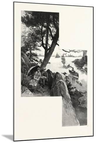 Eastern Ontario, Among the Thousand Islands, Canada, Nineteenth Century--Mounted Giclee Print