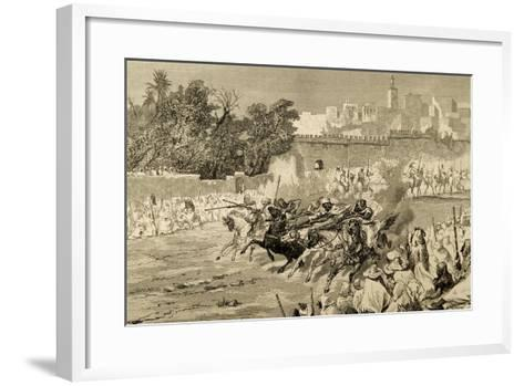 Islam. Celebrations to Commemorate the Birth of Muhammad. Morocco. by Biseo--Framed Art Print