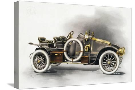 Torpedo Type Cg Renault Motor Car, Renault Catalogue, 1911, France, 20th Century--Stretched Canvas Print