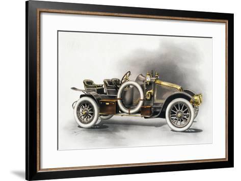 Torpedo Type Cg Renault Motor Car, Renault Catalogue, 1911, France, 20th Century--Framed Art Print