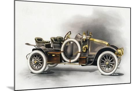 Torpedo Type Cg Renault Motor Car, Renault Catalogue, 1911, France, 20th Century--Mounted Giclee Print