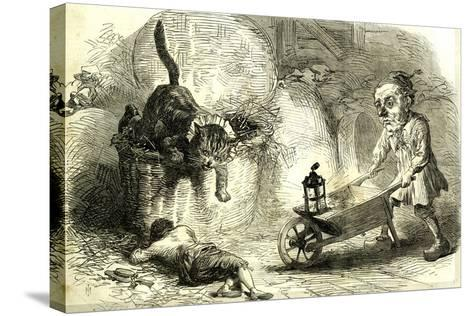 Drury Lane Theatre Grimalkin Thegreat Puss in Boots and the Miller's Son 1869 London Great Britain--Stretched Canvas Print